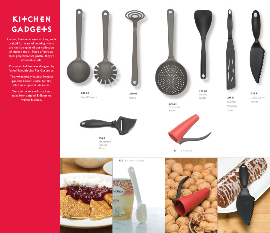 Cose Serving Items Page