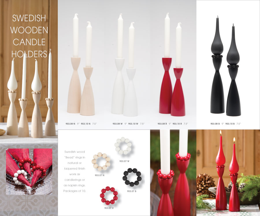 Cose Wooden Candleholder Page