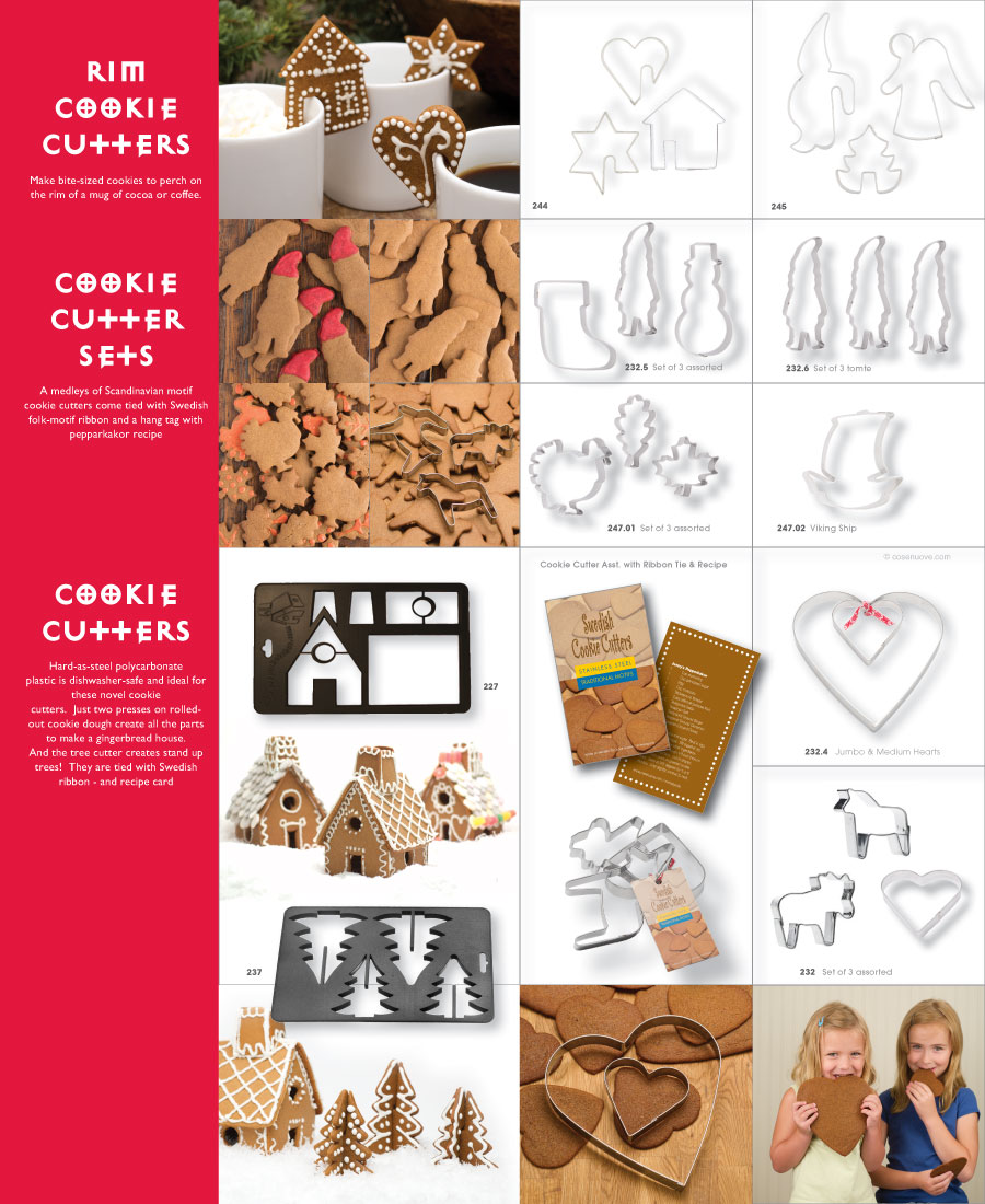 Cose Cookie Cutter Page