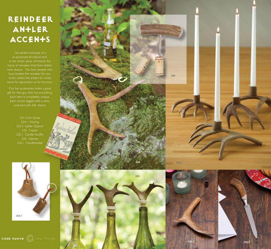 Cose Antler Accessories Page