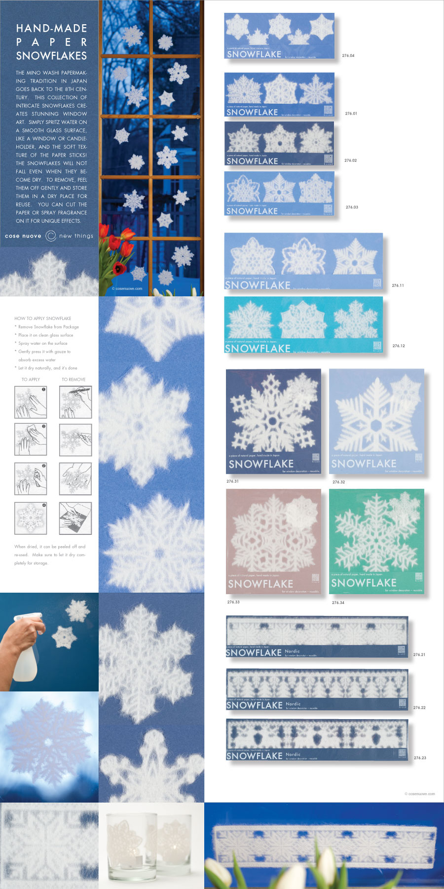 Window Snowflakes